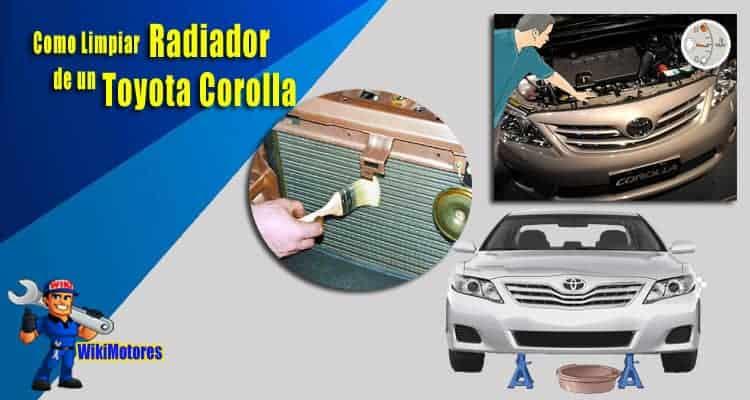 Como Limpiar el Radiador en un Toyota Corolla 2