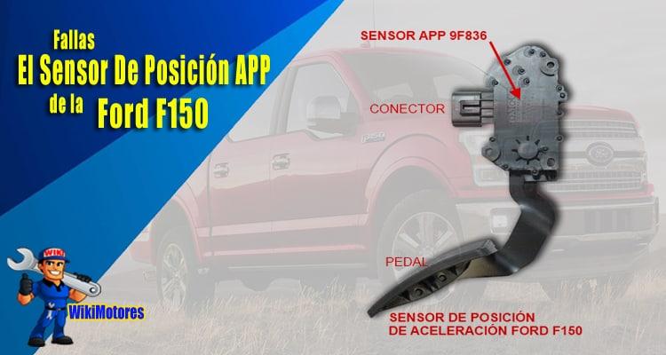 Fallas Con El Sensor De Posicion Del Pedal Del Acelerador De La Ford F150 3