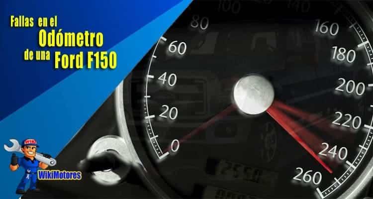 Fallas en el Odometro de una Ford F150 2