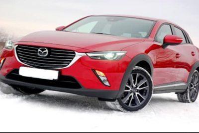 Mazda CX-3.
